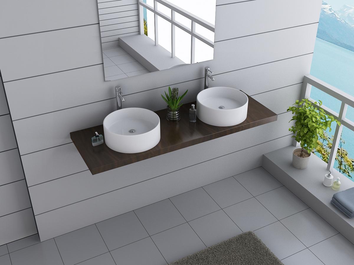 BWARE Designer Badmöbel Waschbecken Waschtisch Keramik  ~ Waschbecken Ebay