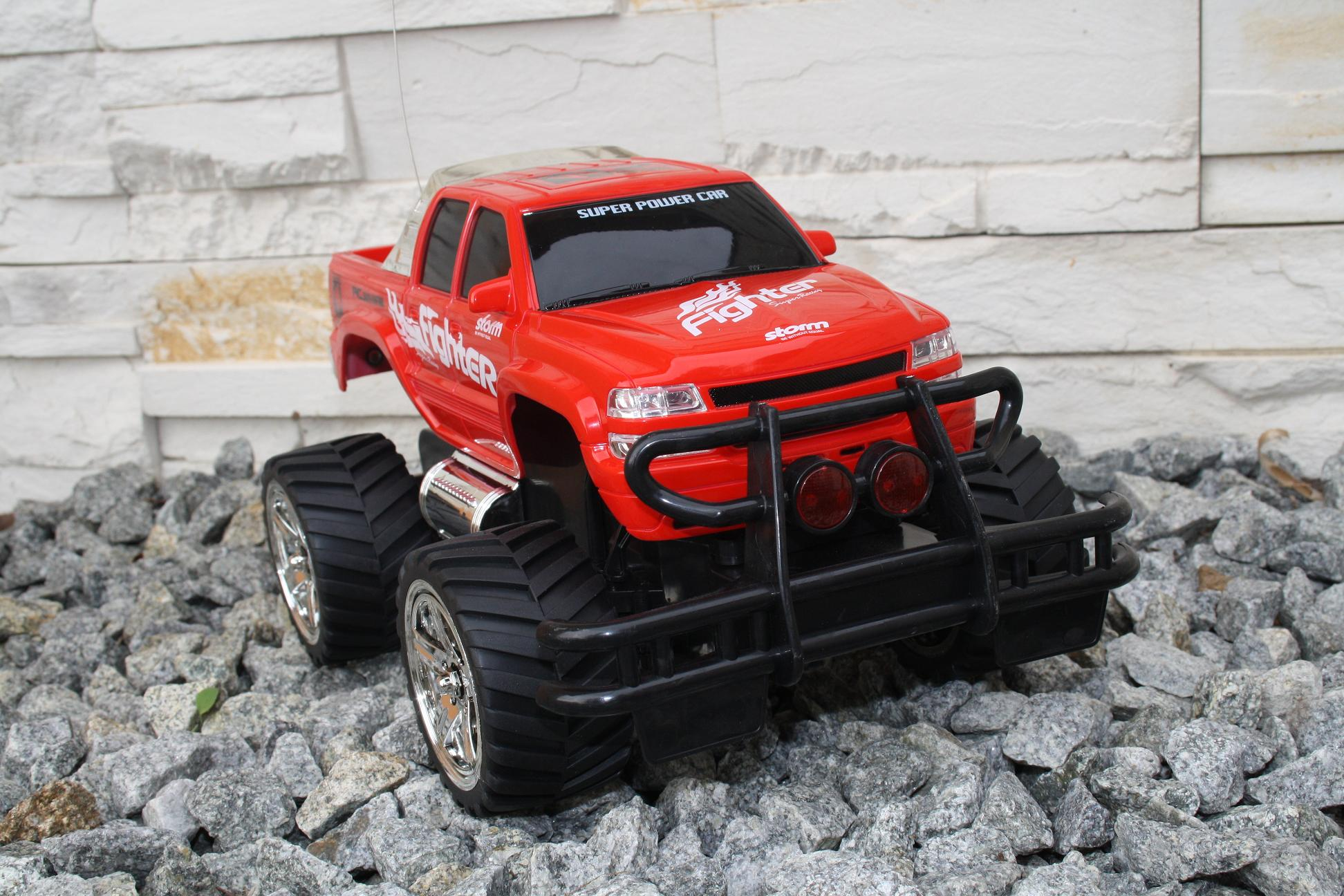 rc monster truck offroad fighter ferngesteuertes auto. Black Bedroom Furniture Sets. Home Design Ideas