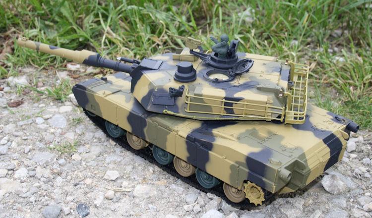 rc panzer m1 a2 abrams ferngesteuerter us kampfpanzer. Black Bedroom Furniture Sets. Home Design Ideas