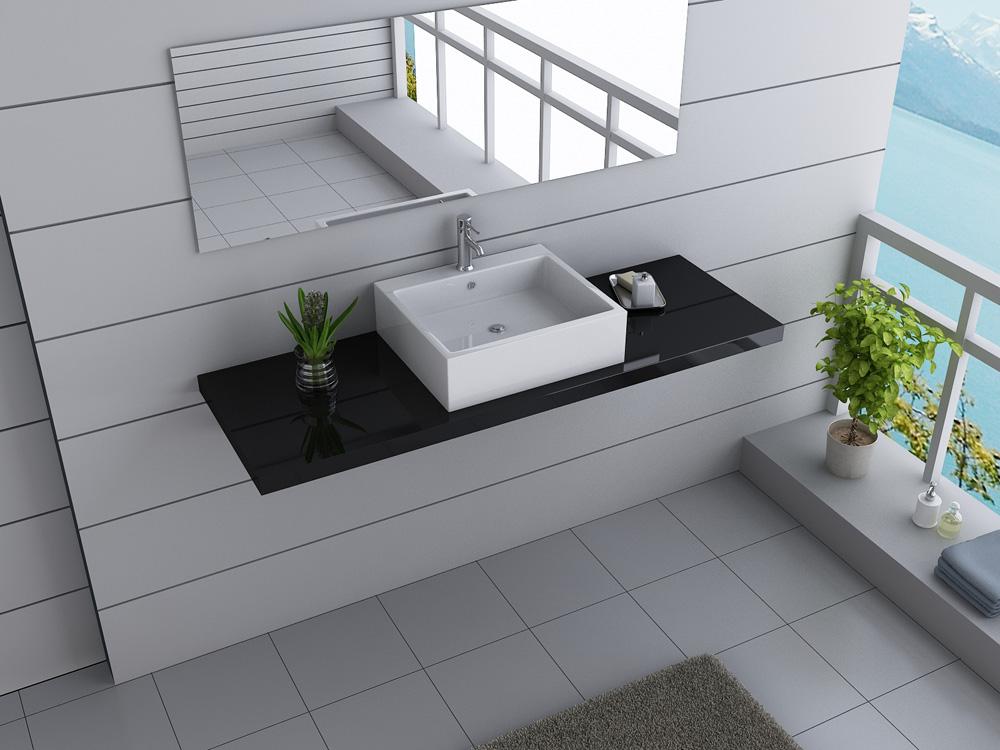 b ware designer badm bel waschbecken waschtisch keramik waschtischplatte design ebay. Black Bedroom Furniture Sets. Home Design Ideas