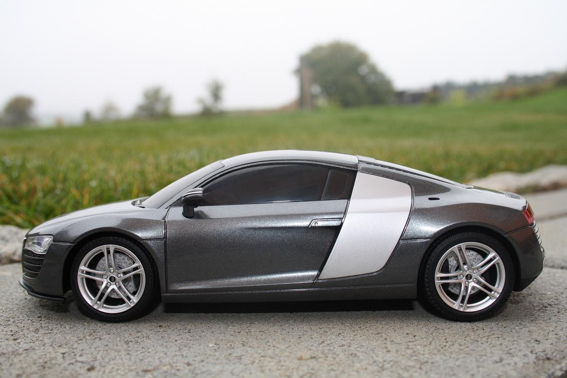 rc audi r8 ferngesteuertes auto sportwagen rennwagen mit. Black Bedroom Furniture Sets. Home Design Ideas