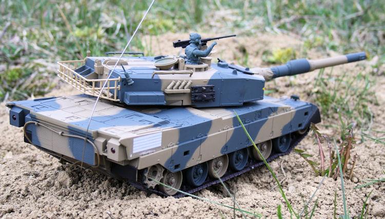 rc panzer type 90 japan ferngesteuerter kampfpanzer. Black Bedroom Furniture Sets. Home Design Ideas